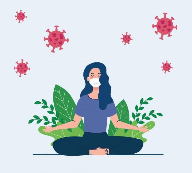 bienestar meditación en tiempos de Covid
