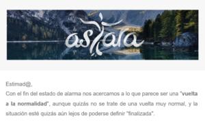 newsletter asTara